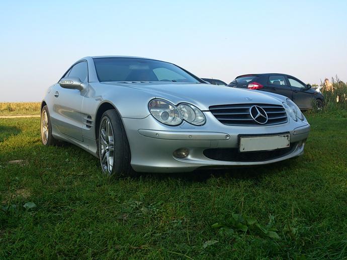 Mercedes-benz SL500, автомат, 2002