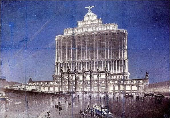 Здание Аэрофлота. Чечулин. 1934