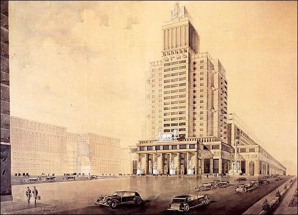 Дом книги. Голосов. Антонов. Журавлев. 1934