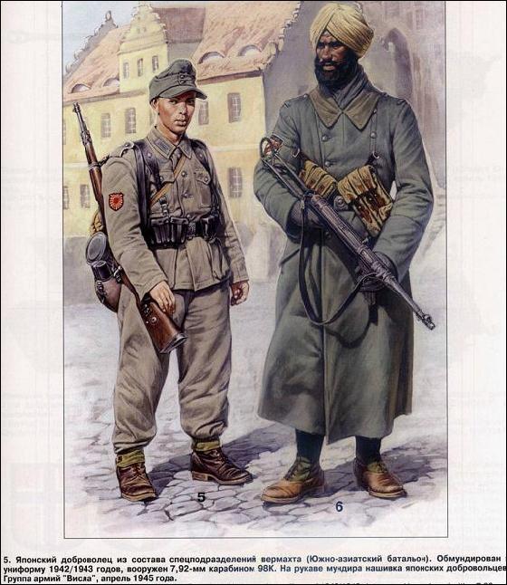 иностранные солдаты германии